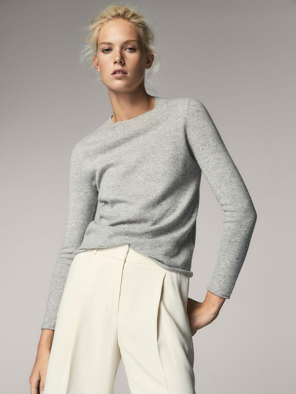 120eae320aa8b PANTALÓN FLUIDO CRUDO de MUJER - Pantalones - Ver todo de Massimo Dutti de  Otoño Invierno 2017 por 39.95. ¡Elegancia natural!