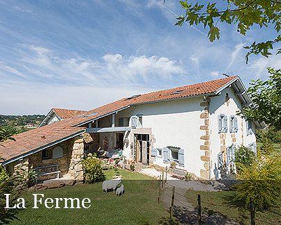 Maison D Hotes Gites Au Pays Basque La Ferme Elhorga Pays Basque Gite De France Maison Basque