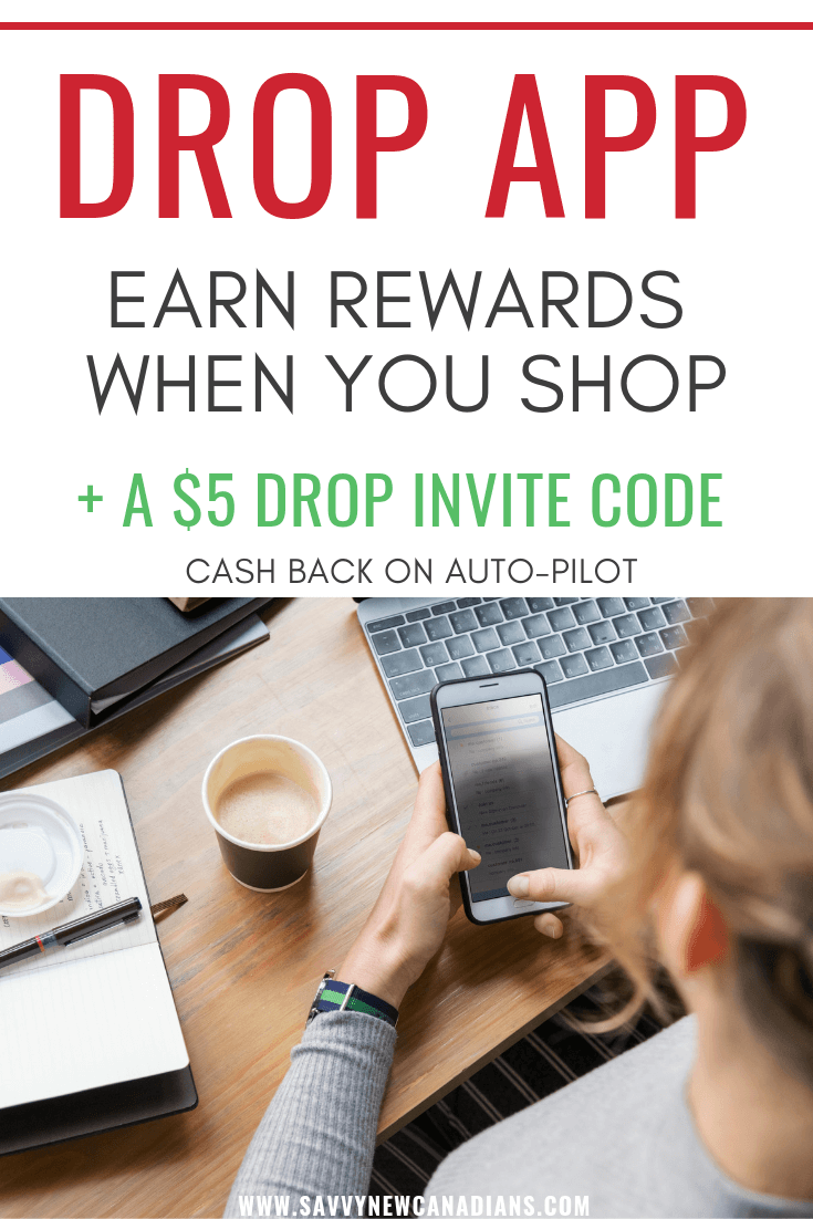 Drop App Earn Rewards When Shopping Plus A 5 Invite Code Drop