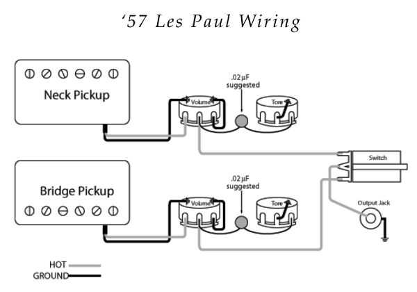 57er les paul wiring wiring in 2019 guitar diy, guitar Guitar Wiring Diagrams