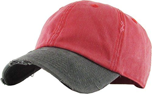 747937ccb48  10.99 KBETHOS Pigment Vintage Distressed Washed Cotton Dad Hat Baseball  Cap Polo Style