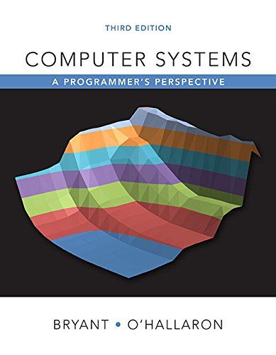 Computer Systems A Programmer S Perspective 3rd Edition Https Www Amazon Com Dp 013409266x Ref Cm Sw R Pi Dp Computer System Programmer Computer Science