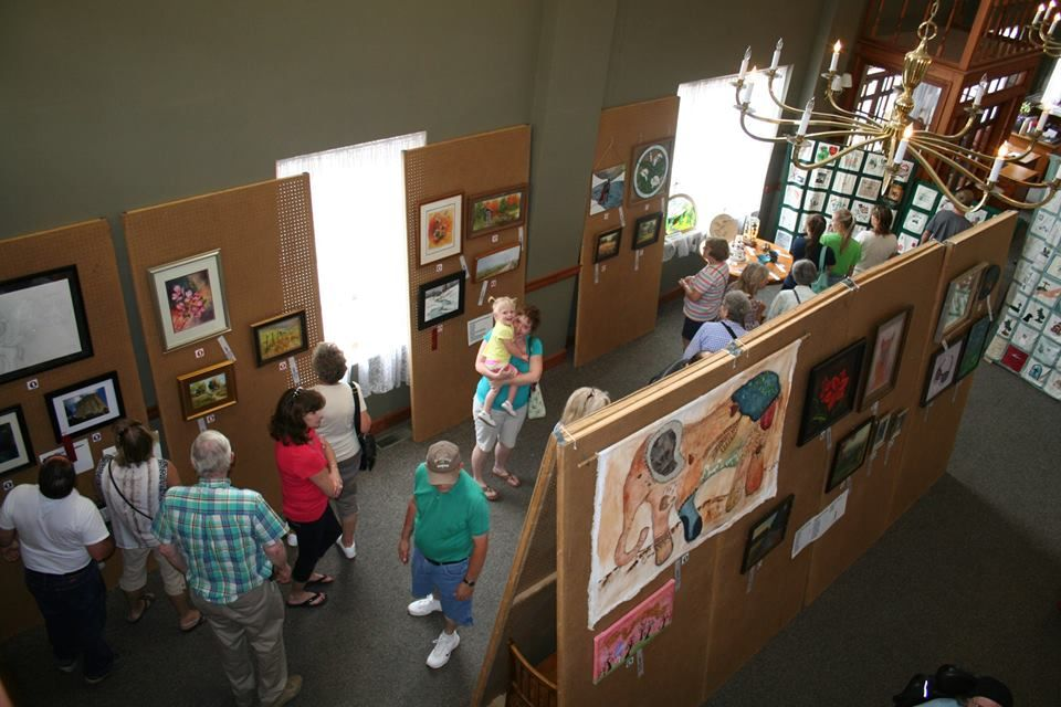 Crawford County Art Council with Display at our office