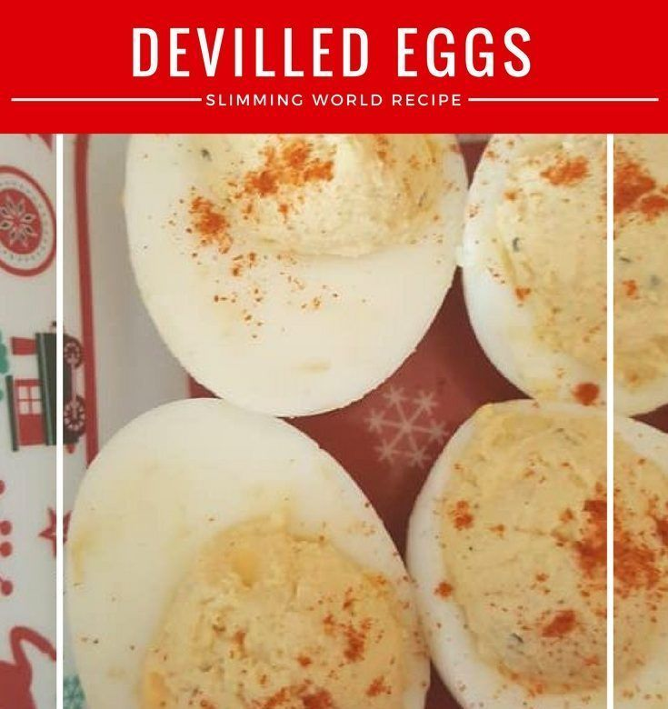 Devilled eggs – totally syn free on Slimming World and a great buffet item