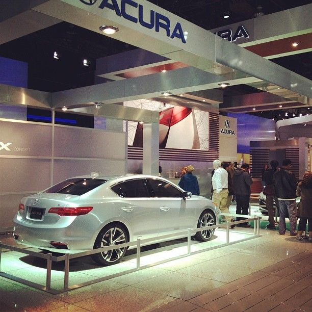 2013 Acura ILX At The North American International Auto