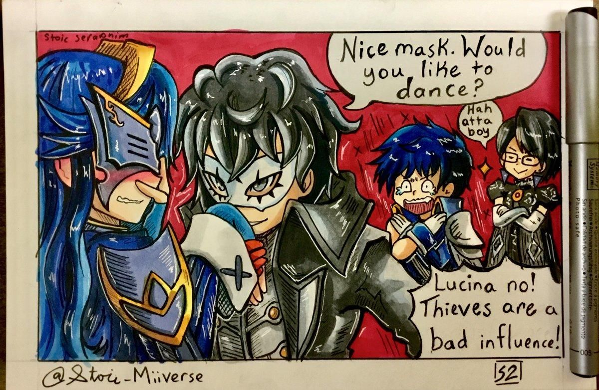 Joker Trying To Get That Rank 9 Romance With Lucina Smash Bros