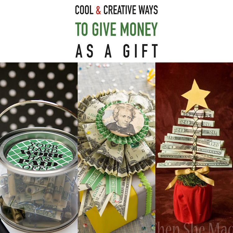Cool and Creative Ways To Give Money As A Gift | Creative ...