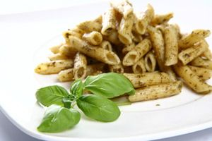Whole Wheat Penne Pasta with Broccoli Rabe & Sausage