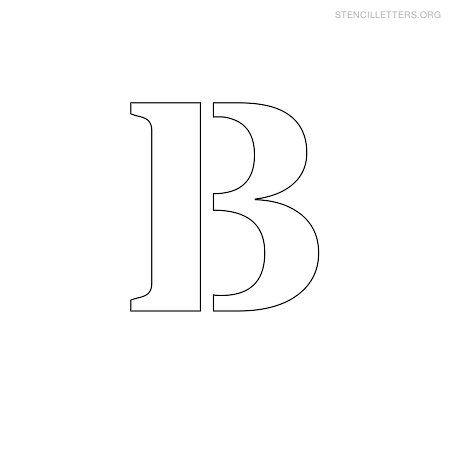 stencil letter small b stencil templates free stencils letter stencils cut out letters