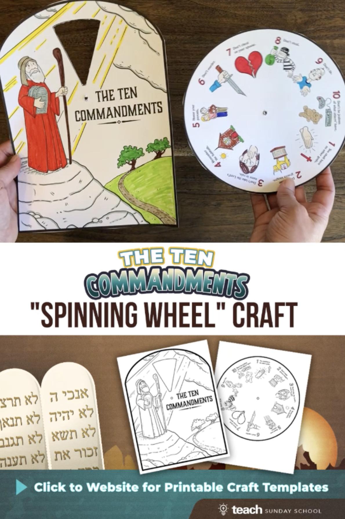 Ten Commandments Lesson Kit In