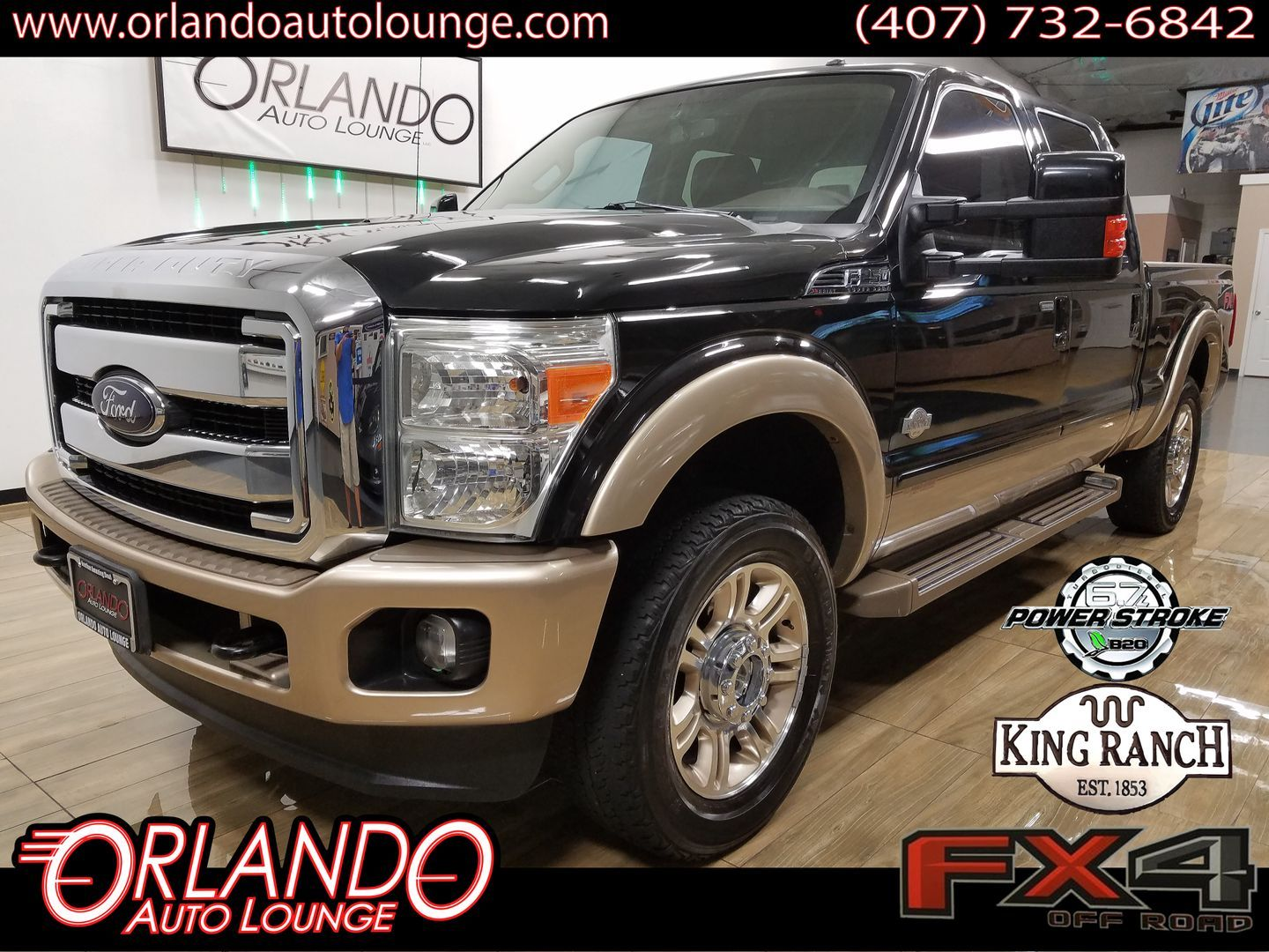 2012 Ford F250 Super Duty Crew Cab King Ranch Pickup 4d 6 3 4 Ft