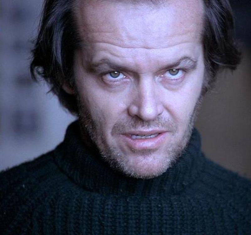 Jack Nicholson El Resplandor The Shining 1980 Jack Nicholson The Shining Jack Nicholson The Shining