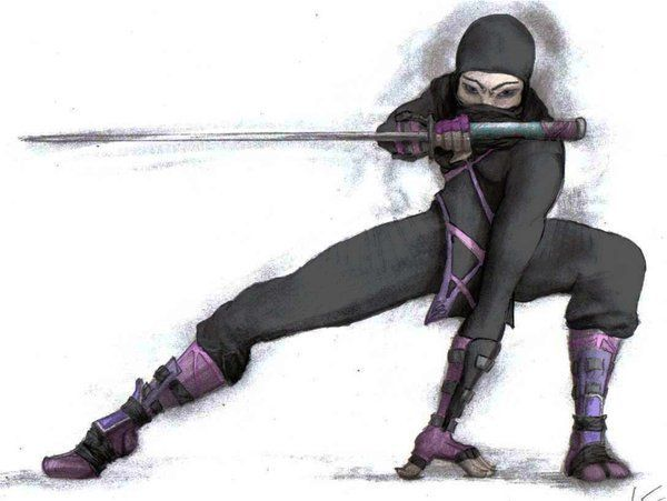 Cartoon ninja Thesis Inspiration Pinterest Female
