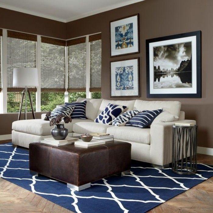 Einladendes Wohnzimmer dekorieren Ideen und Tipps Salons - Wohnzimmer Modern Lila