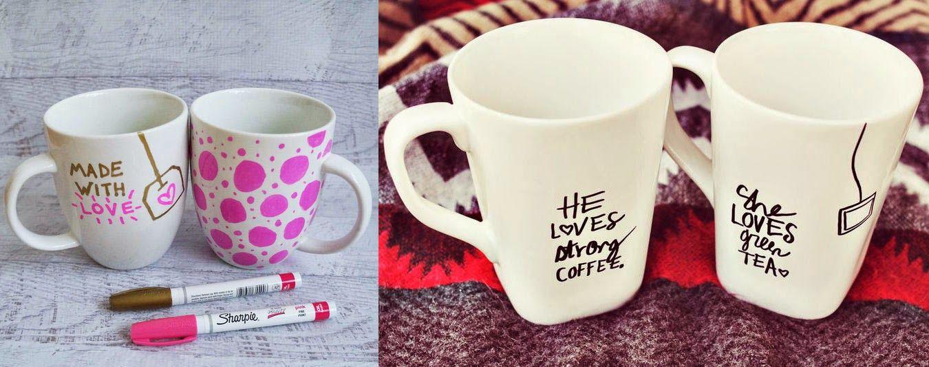 Basteln Mit Tassen tassen bemalen geschenk für muttertag basteln porzellan