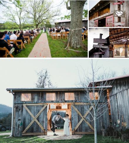 Rustic Chic Barn Wedding Venues In Georgia Upcycled Treasures