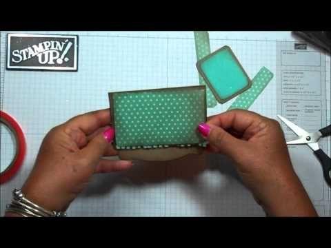 ▶ Pop 'n Cuts gift card holder with Dawn - YouTube