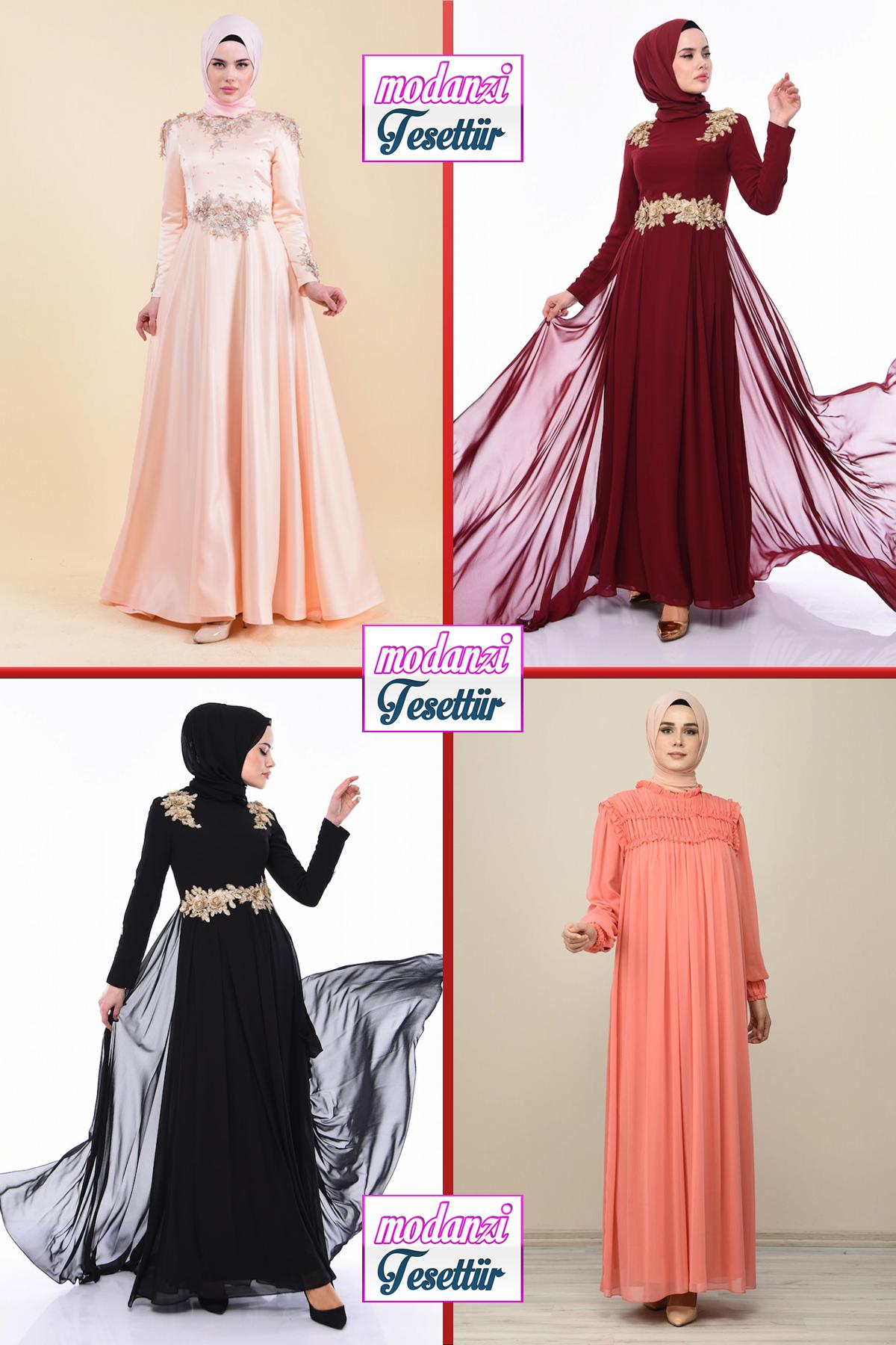 2020 Sefamerve Tesettur Abiye Elbise Modelleri 11 30 Abendkleid Evening Dress 2020 Moda Stilleri Elbise Resmi Elbise