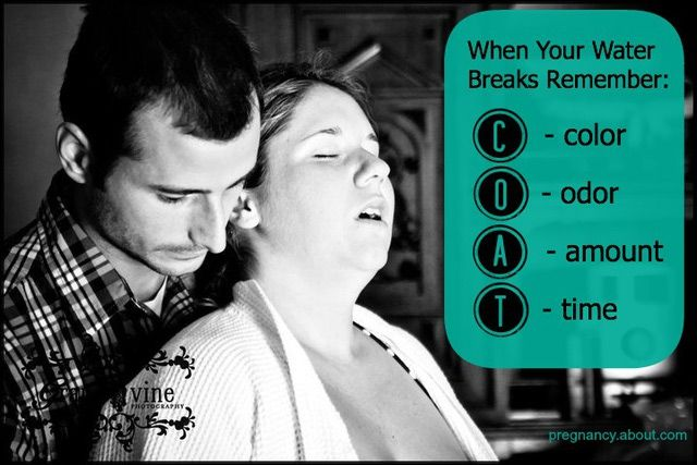 What Makes Your Water Break When Pregnant