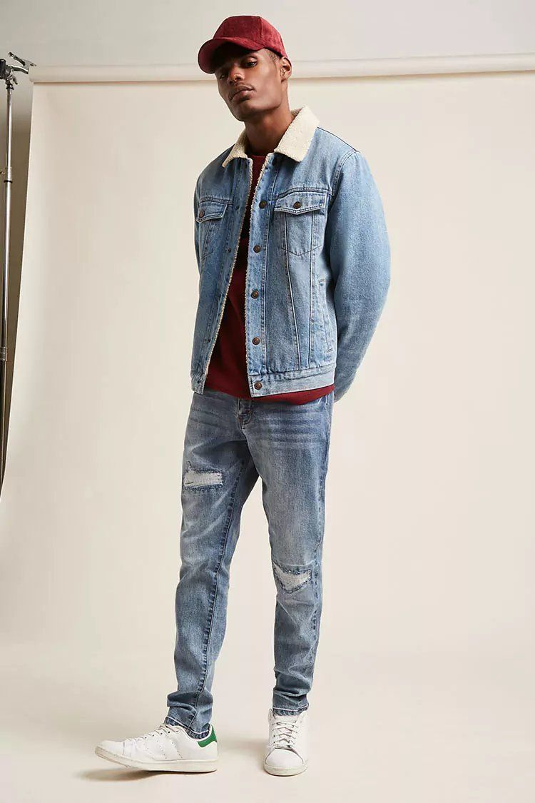 Distressed Skinny Jeans  ec8cb72f6