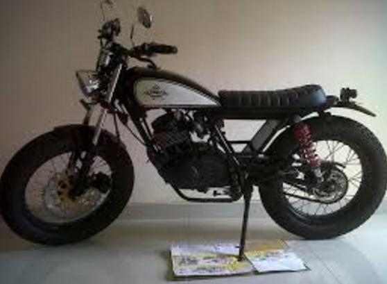 Modifikasi Honda CB 100 Jap Style Klasik