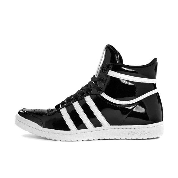 Adidas Top Ten Hi Sleek Color: Black laquer / white. On my Doppler Radar