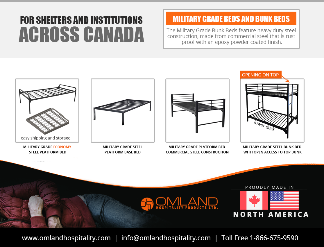 Emergency Shelter Beds & Bunk Beds in 2020 Bunk beds