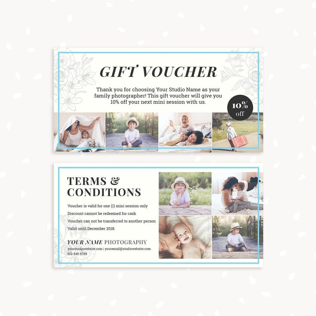 Gift Voucher Template Clic Fl