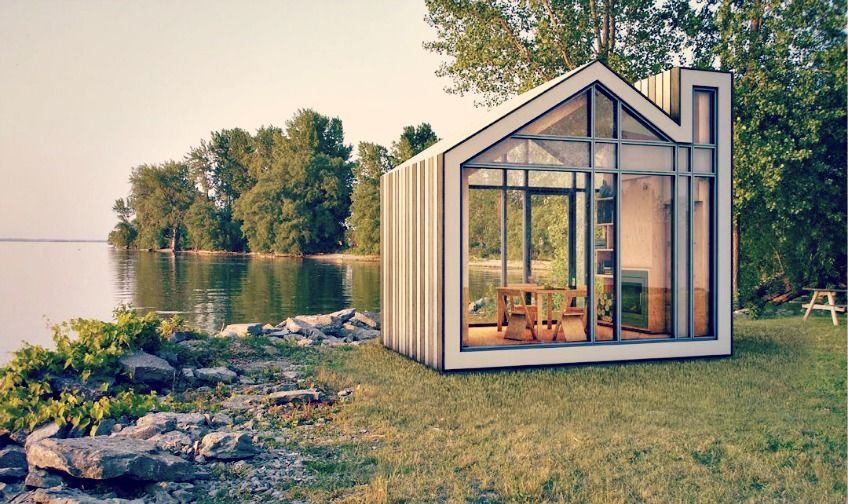 Tiny house simpel leven in een poppenhuisje tiny house for Tiny house movement nederland