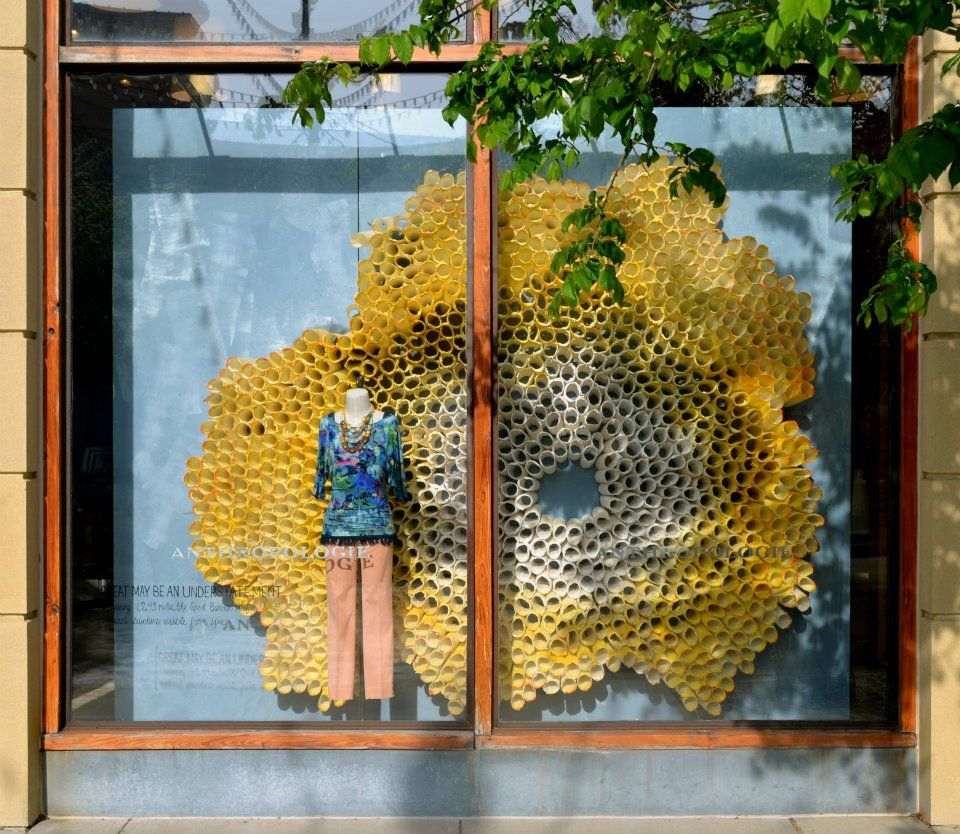 Design updates toms anthropologie windows toilet for Anthropologie store decoration ideas