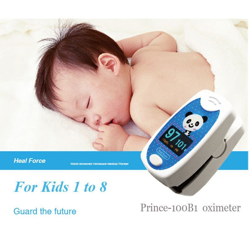 Ce Iso Pediatric Fingertip Pulse Oximeter Spo2 Pulse Rate