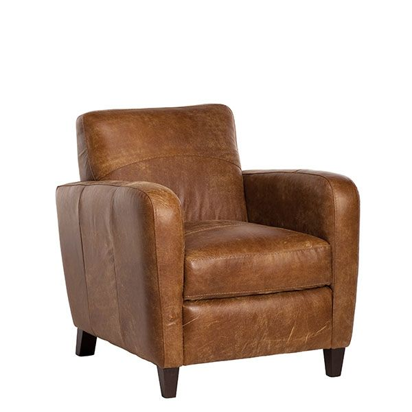 Galveston Leather Tub Chair | Chairs | Living Room | Furniture I ...