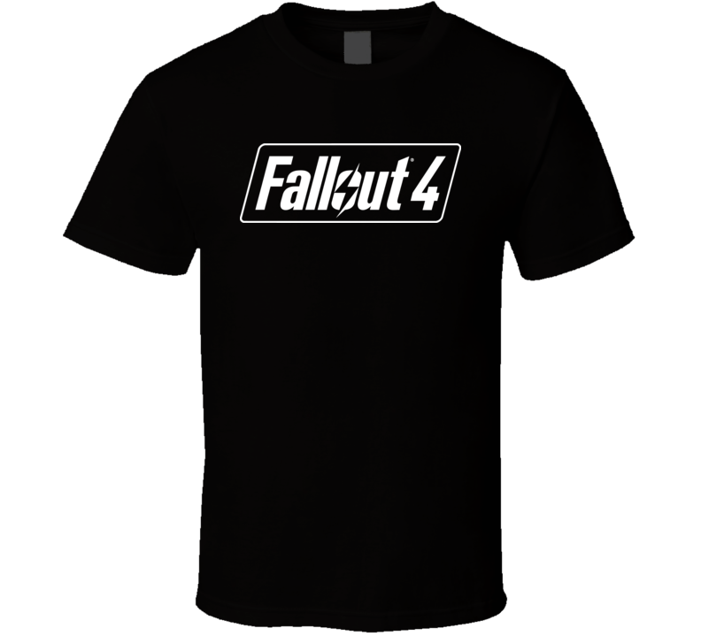 Fallout 4 Video Game Logo Fan T Shirt Video Game Logos Fallout 4 Videos Logo Fans