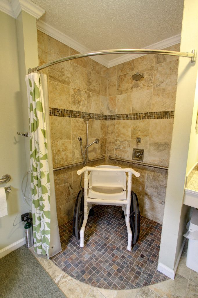 Handicap-Accessible Bathroom Remodel #DisabilityLiving >> Learn more ...