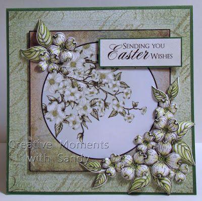 Heartfelt Creations Stamp /& Die Combo ~ FLOWERING DOGWOOD  Spring ~ -7129 3773