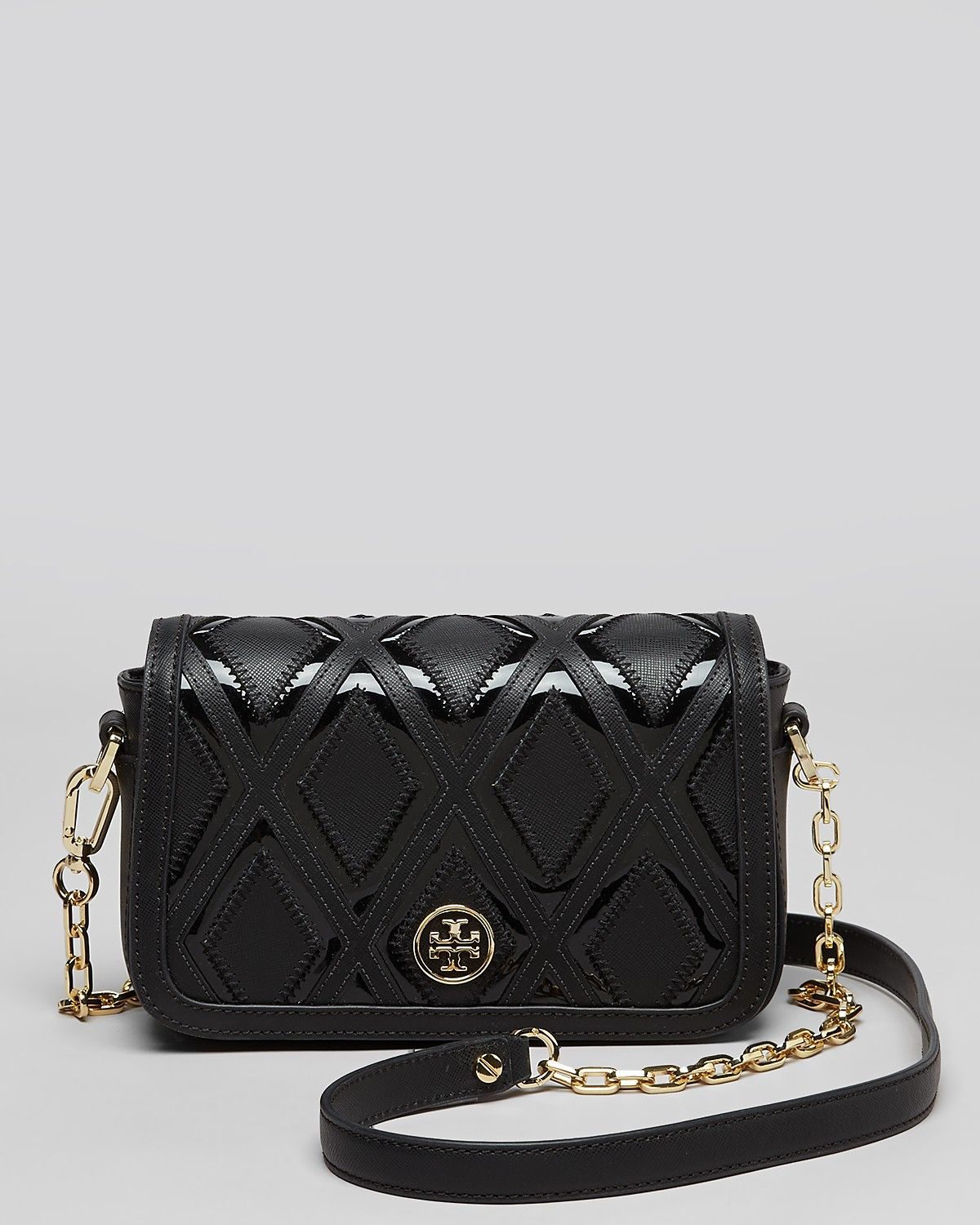6850962bb19d Tory Burch Shoulder Bag - Robinson Patchwork Mini Chain ...