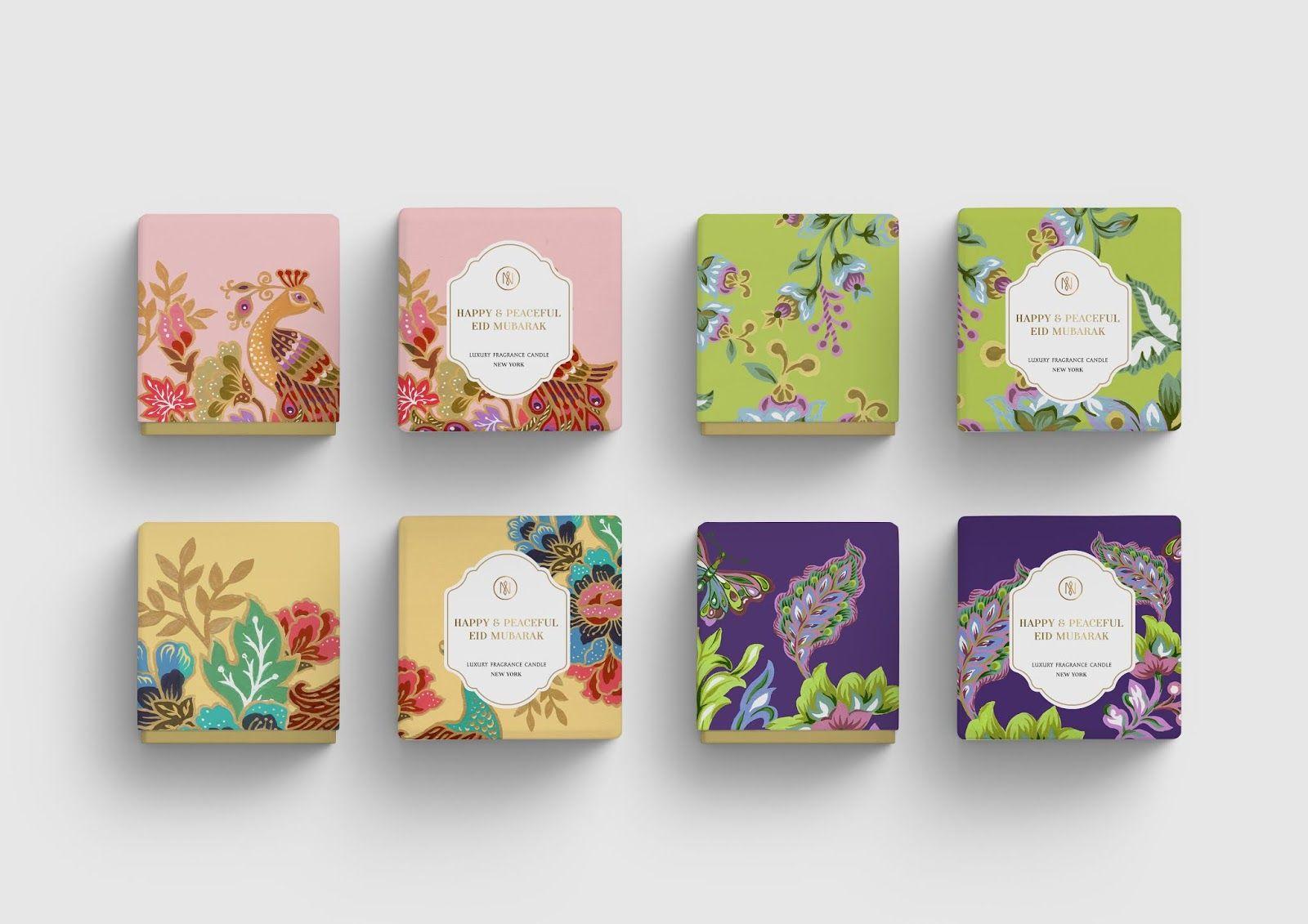 The Glory Of Eid Mubarak Tea Packaging Design Creative Packaging Design Eid Mubarak