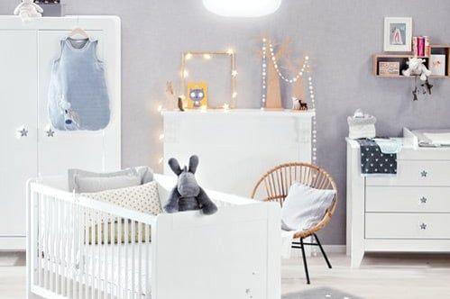 Chambre de bébé  une déco mixte pour fille et garçon Chambre