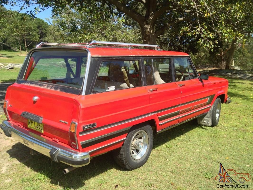 For Sale Is A Classic Jeep Cherokee Wagoneer Truck 1983 V8 4x4