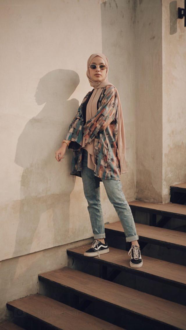 ootd hijab, fashion fashionable | Gaya berpakaian, Pakaian ...