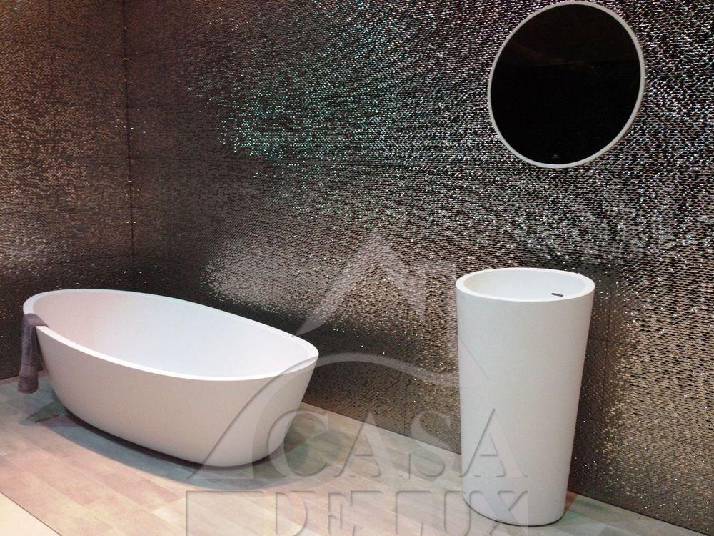 PORCELANOSA MADISON ANTRACITA 3D Gloss Black Ceramic Wall tiles ...