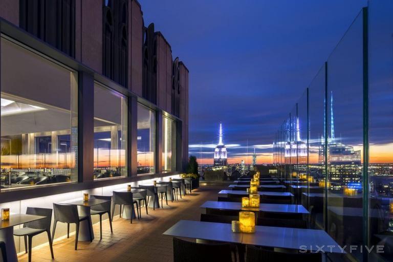 Sixtyfive Bar Und Rooftop Lounge Im Legendaren Rainbow Room Dachrestaurant Hausdach Dachterrasse