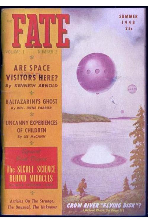 1948 Fate Magazine Covers Paperback Book Covers Fate Magazine Cover