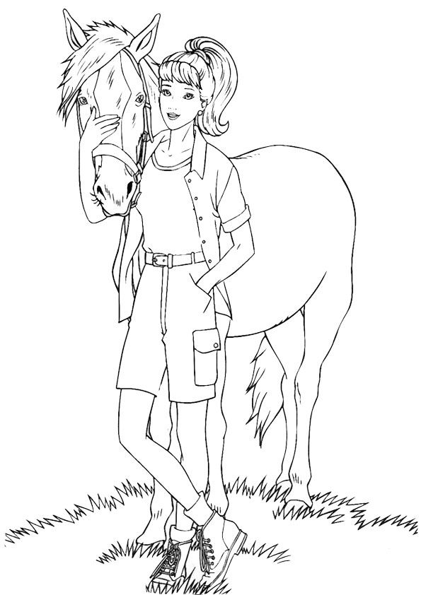 Malvorlagen Barbie 19 Malvorlagen Pferde Malvorlagen Tiere Ausmalbilder