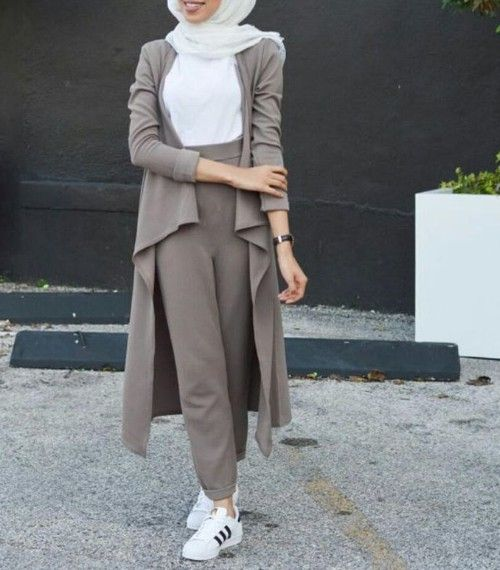 Hijab Style With Sneakers Hijab Fashion Muslim Fashion Fashion