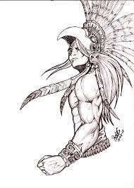 Resultat D Imatges De Dibujos Aztecas Para Tatuajes Mayas Art