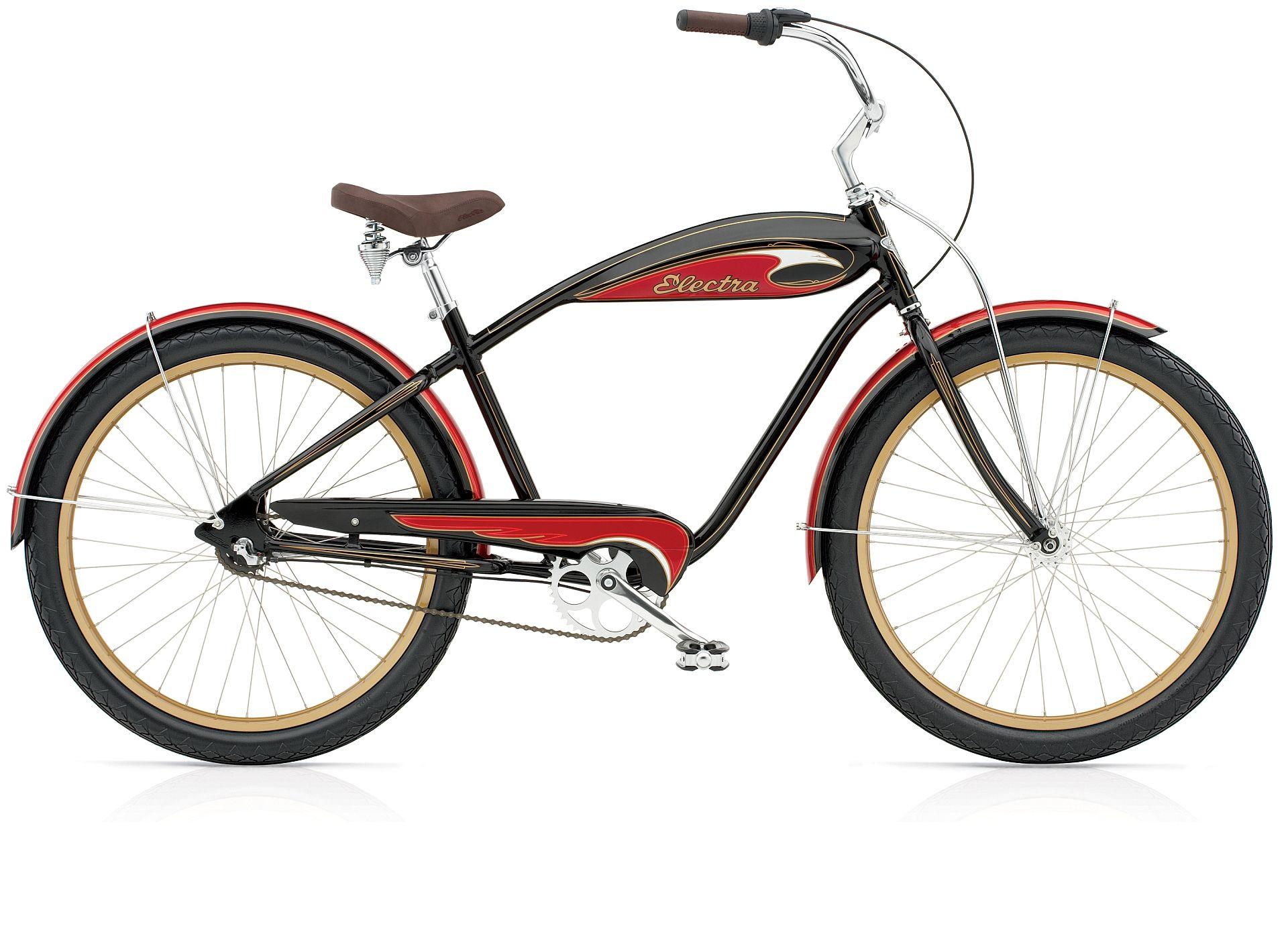 Red Cool Comfort Bicycle Saddle     Vintage Schwinn Tank Bike Beach Cruiser Seat