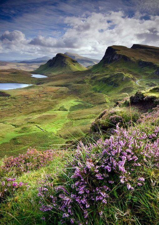 Glencoe, Scotland ... actually not Glencoe. It's 'The Quiraing' located on the Isle of Skye.