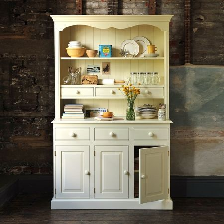 Gloucester Painted Pine Kitchen Dresser 4ft Quality Wooden Furniture At Great Low Prices From