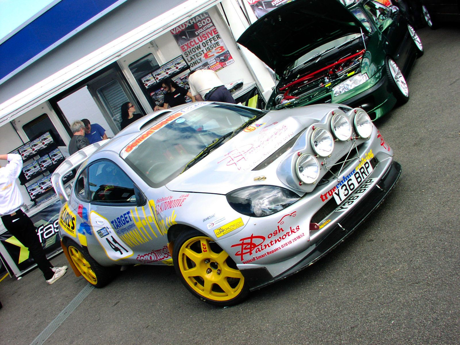 Ford Puma Kit Car Camion Rallye